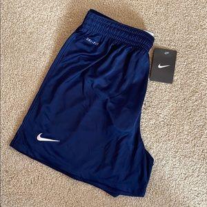 BRAND NEW Womens Navy Blue Nike Athletic Shorts
